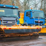 Road maintenance vehicles are exempt from the requirement to be fitted with Tachograph
